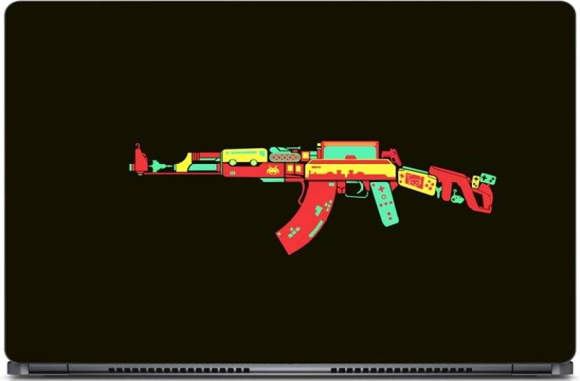 Gallery 83 ® Colorful AK-47 Gun Exclusive High Quality