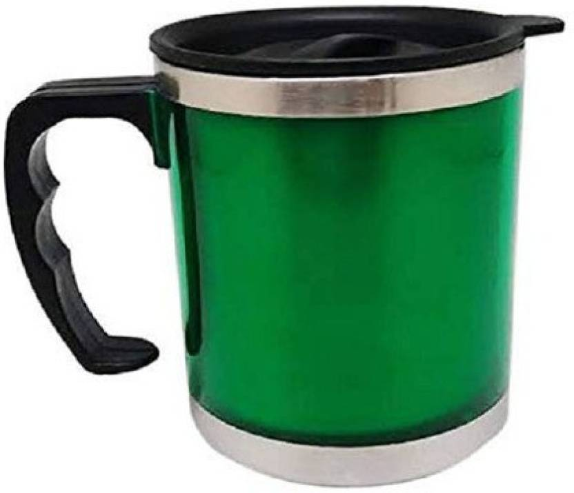 Lifemusic Designer Stainless Steel Insulated Coffee Tea Water Travel