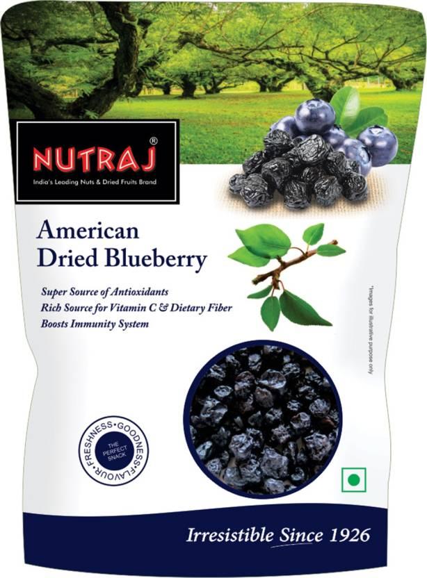 Nutraj Dried American Blueberries 200g Price in India - Buy Nutraj
