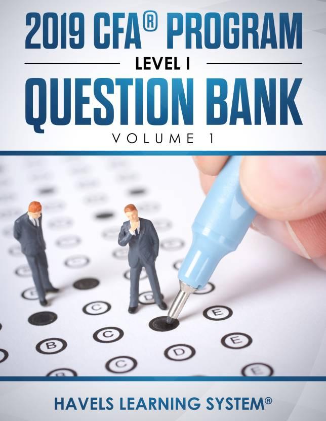 2019 CFA Level 1 Question Bank - Volume 1: Buy 2019 CFA