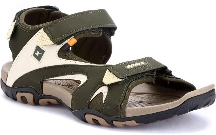 2fa8cea20e70 Sparx Men Olive Sandals - Buy Sparx Men Olive Sandals Online at Best Price  - Shop Online for Footwears in India