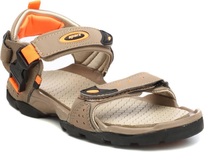 3e1089f07993 Sparx Men Camel Orange Sports Sandals - Buy Camel
