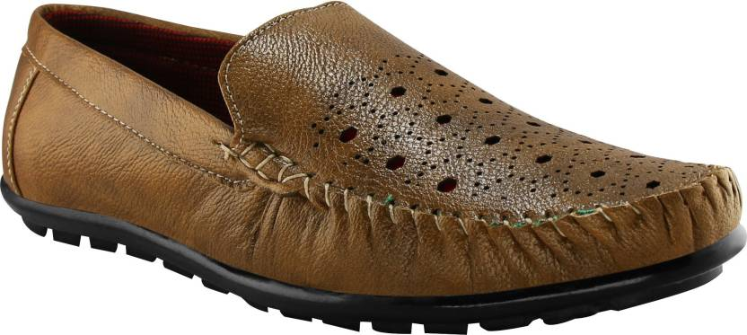 0c68e39f5e7 Loafer Shoes For Men (Brown) Tapps unique collection