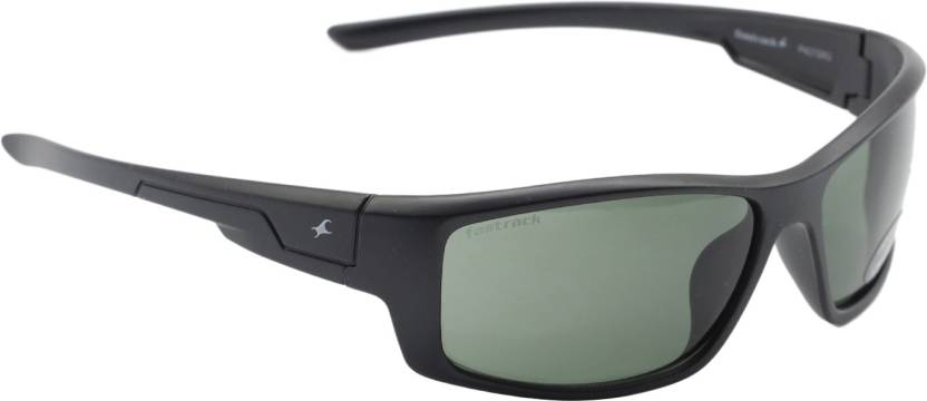 e63a04bd5a Buy Fastrack Shield Sunglasses Green For Men Online   Best Prices in ...