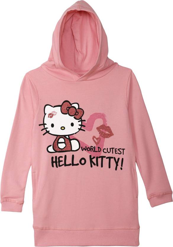8a276793e Hello Kitty By Kidsville Full Sleeve Graphic Print Girl's Sweatshirt ...