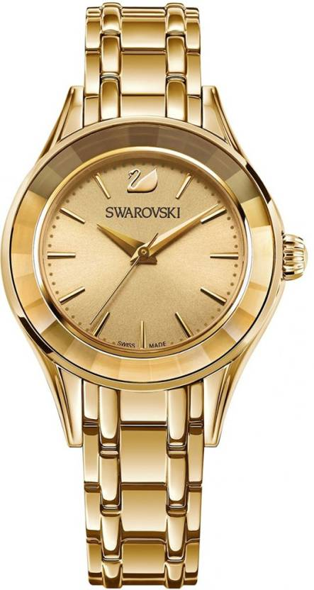 e84df945f69021 Swarovski 5188840 Alegria Gold-tone Watch - For Women - Buy Swarovski  5188840 Alegria Gold-tone Watch - For Women 5188840 Online at Best Prices  in India ...
