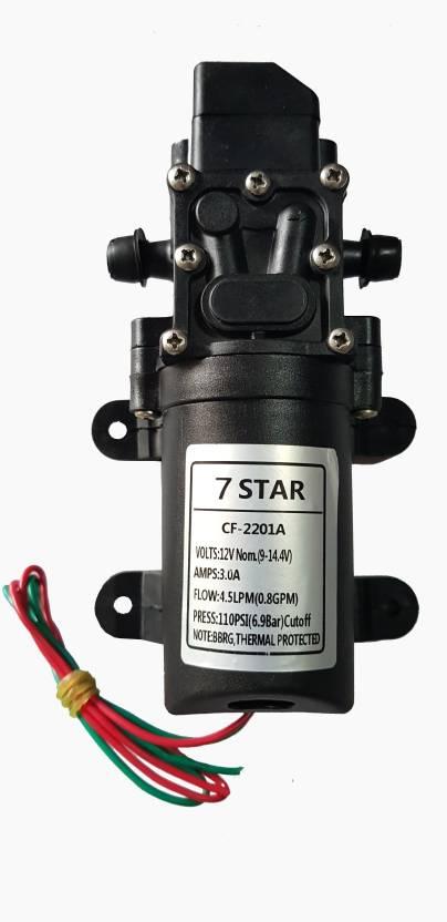 7star 7-STAR 4 5 LPM / 12v DC Battery Sprayer Motor/water Pump Diaphragm  Water Pump