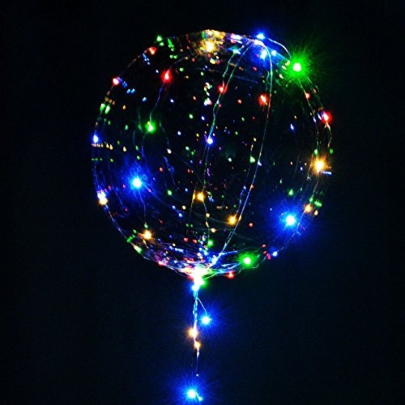 SUPER SIZE LED BALLOON LIGHTS PACK OF 4
