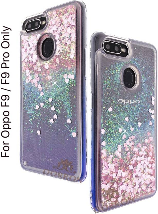 DORRON Back Cover for OPPO F9 / F9 Pro Glitter Bling Stylish