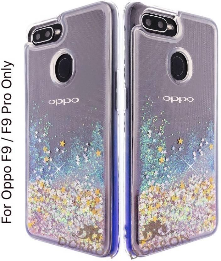 DORRON Back Cover for OPPO F9 / F9 Pro Glitter Bling Stylish