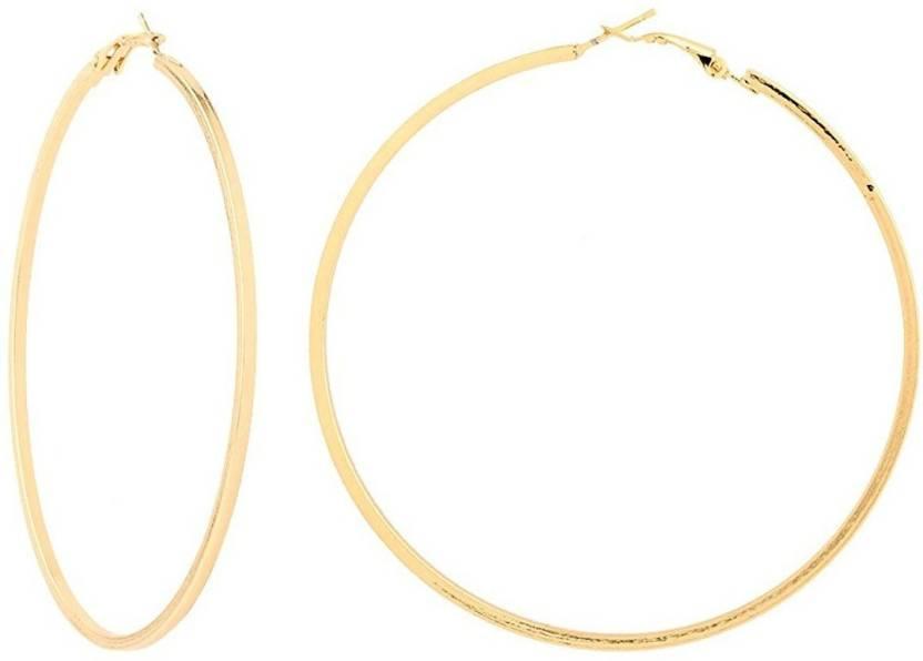 Bnb Gold Loop Br Hoop Earring