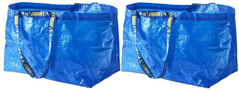 d1c003ace IKEA Frakta Shopping bag Pack of 2 Grocery Bags Price in India - Buy ...