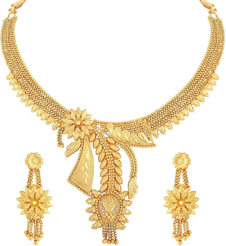 63b78a145c534 Asmitta Jewellery Brass Jewel Set Price in India - Buy Asmitta ...