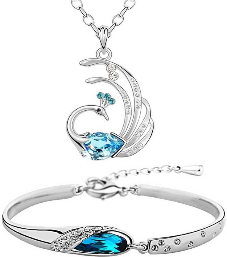 1ea4987426cd14 Om Jewells Alloy Jewel Set Price in India - Buy Om Jewells Alloy ...
