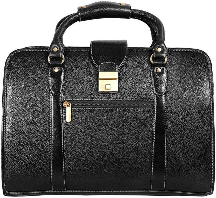 Reo Leather 15.6 inch Expandable Laptop Case Black - Price in India ... 640dd06f504d6