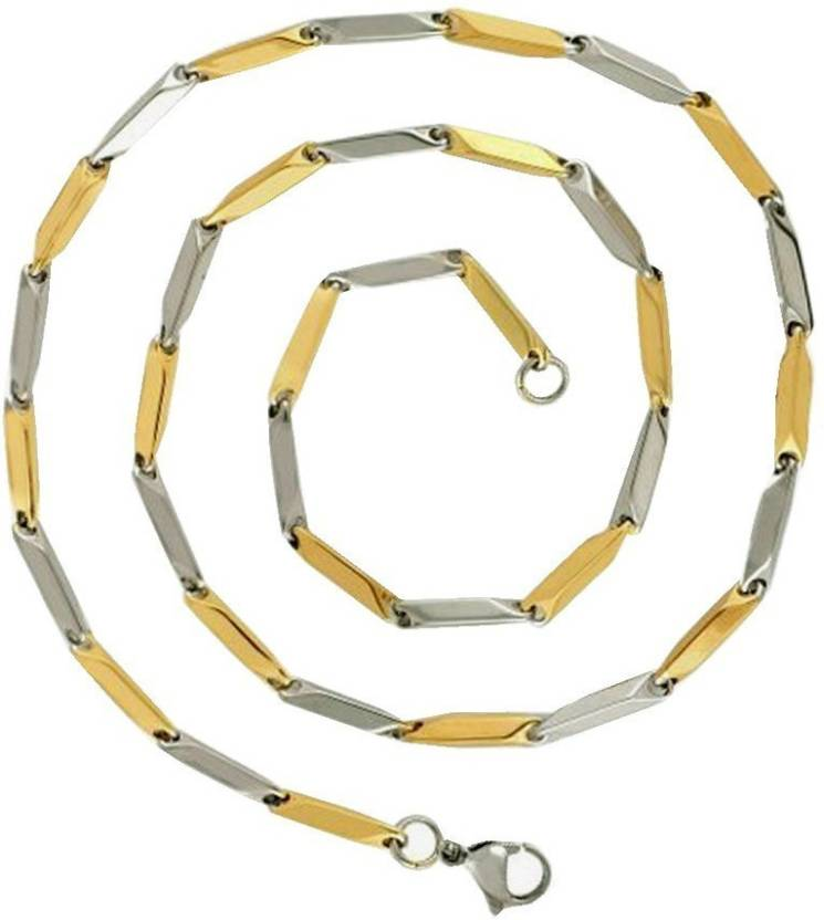 3b4d1c4c6c9fb Men Style Gold-plated Plated Stainless Steel Chain