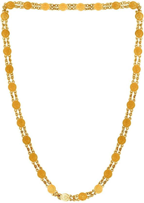 b85a087c2ad shreyadzines Gold Plated Ginni Design Long Chain Alloy Chain Price in India  - Buy shreyadzines Gold Plated Ginni Design Long Chain Alloy Chain Online  at ...