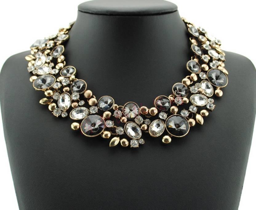 d1dcb05dff Cinderella Fashion Jewelry Stylish Statement Alloy Choker