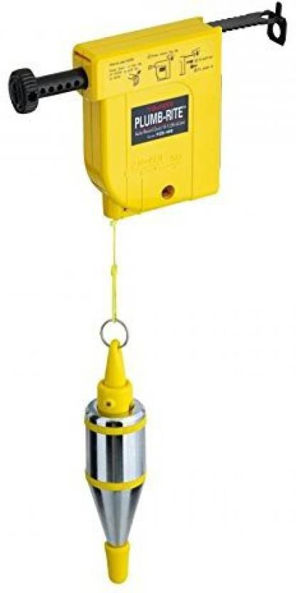 Tools Centre 400g Magnetic Measuring Plumb Bob 5m Line 0 100 Kg