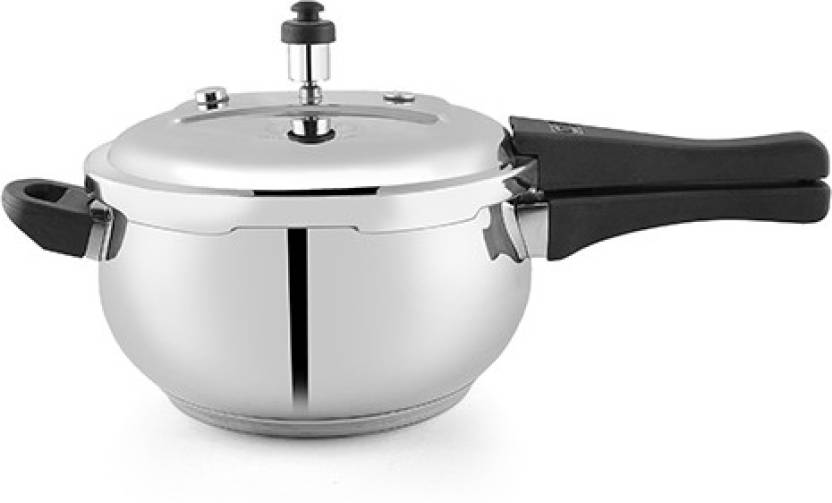 6ca15ba7e46 PNB PNB kitchenmate excel pressure cooker 1.2 mm thickness capacity 3.5  litre stainless steel 3.5 Pressure Cooker with Induction Bottom (Stainless  Steel)