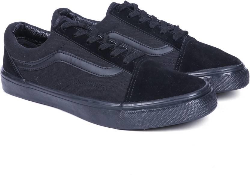 599eb7c333d4 vans old skool Triple Black Sneakers For Men - Buy vans old skool ...