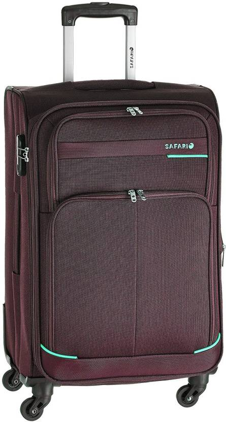 d0ceec051f Safari Heavy Duty Expandable Check-in Luggage - 24 inch Maroon ...