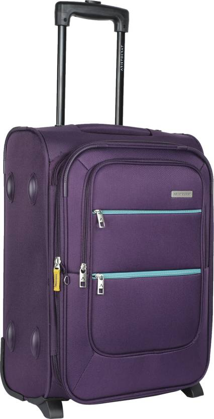 1293eefb1ed7 Aristocrat Vito Expandable Cabin Luggage - 22 inch Purple - Price in ...