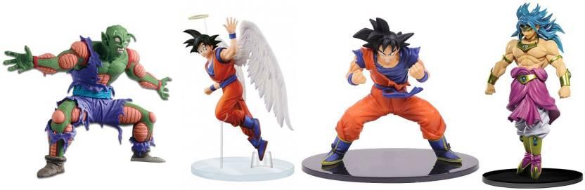 Imodish Dragon Ball Z Dbz 4 Pcs Set Piccolo Goku Fes Angel Goku