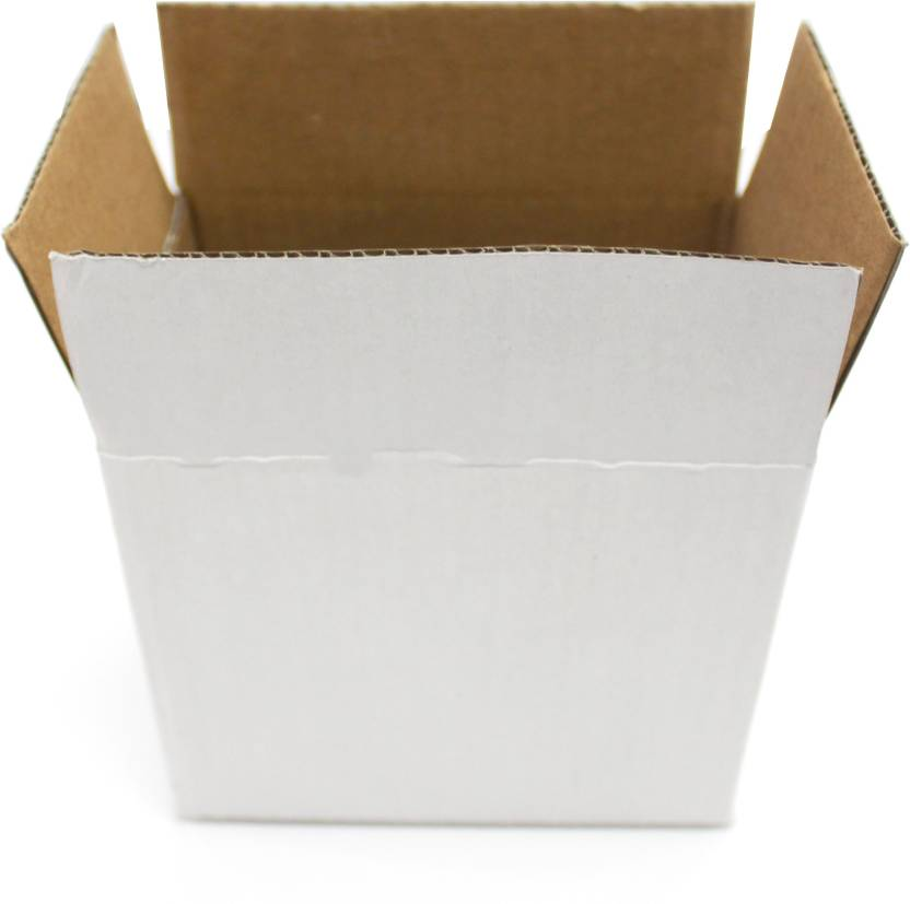 f09a8e7664c Sriyug Print Production Triple Wall Carton Craft Paper Packaging 5.5 x 4 x  4.75 Inch 3 Ply White Box Packaging Box (Pack of 50 White)