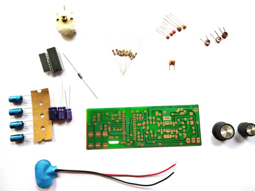 ESP FM Receiver Circuit Kit, 9 V Battery FM circuit Kit with