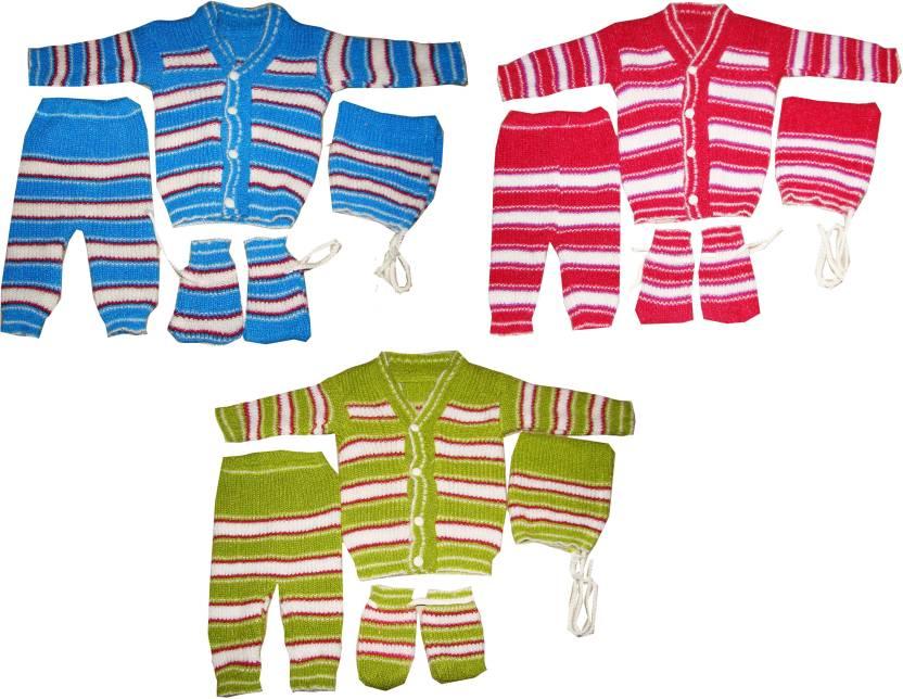 b0fadcf1c08 Kifayati Bazar Baby Boys   Baby Girls Casual Sweater Pyjama