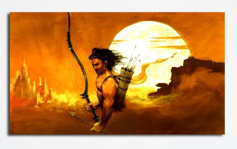 6d77a59c2ad0c1 PIXELARTZ Canvas Painting - Jai Sri Ram - Sunrise in Lanka - Relgious  Canvas Art (23 X 20) - Without Frame Digital Reprint 13 inch x 23 inch  Painting Price ...