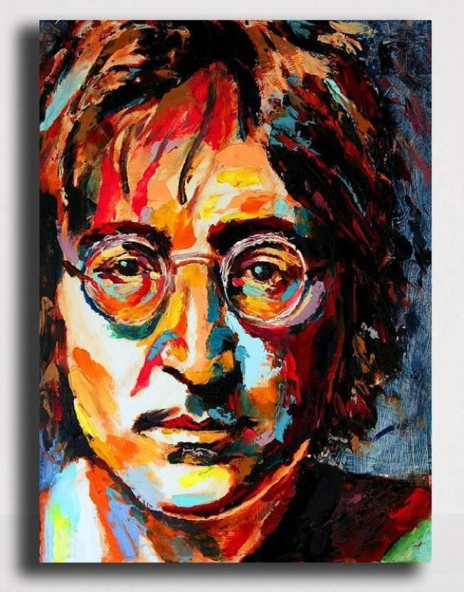 Pixelartz Canvas Painting John Lennon Music Legend 26 X 35