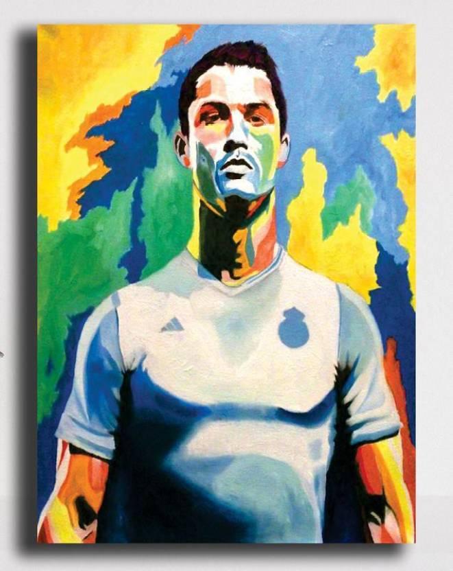 Pixelartz Canvas Painting Cristiano Ronaldo Real Madrid