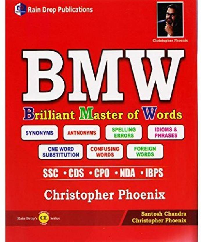 BMW Brilliant Master Of Words Synonyms | Antonyms | Spelling