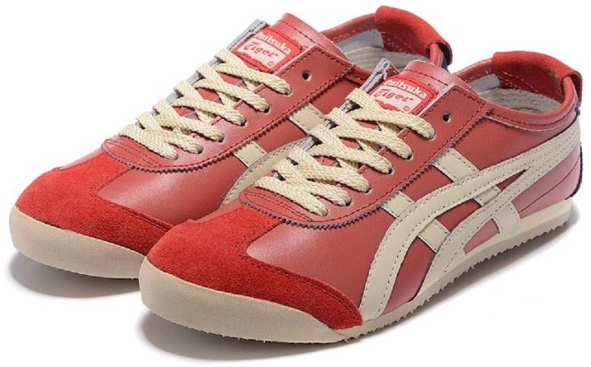 5eedf215986464 Onitsuka Tiger Mexico 66 Red Sneakers For Men - Buy Onitsuka Tiger ...
