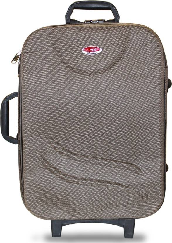 fd1e65479 Akshat 20 Inch Trolley Bag BEIGE -CABIN BAG Cabin Luggage - 20 inch (Beige)