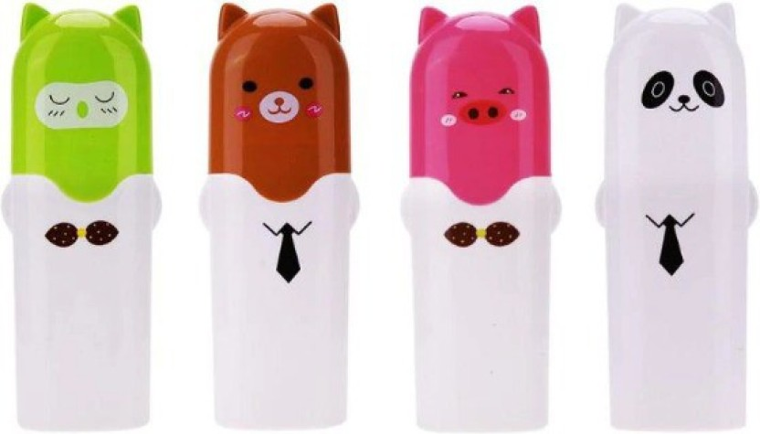 Portable Camping Travel Cartoon Toothbrush Holders Toothpaste Organizer Case New