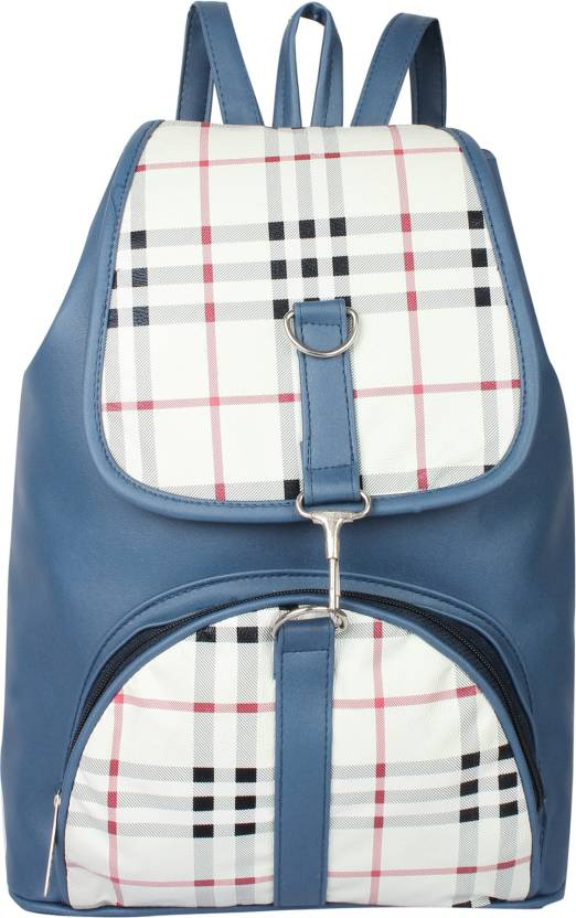 aa83c6548237 Rajni Fashion PU Leather Backpack School Bag Student Backpack Women Travel  bag Tuition Bag 10 L Backpack (Multicolor)