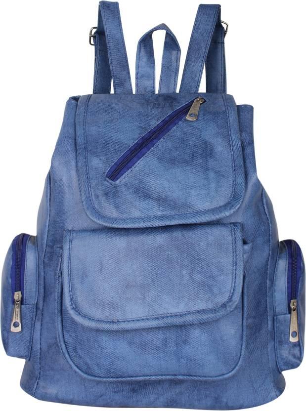 01a643e89e Rajni Fashion Girls Stylish PU Leather Backpack School Bag Student Backpack  Women Travel bag Tuition Bag