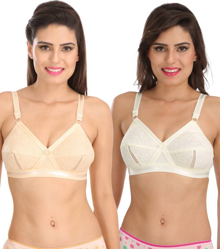 7ac9860fd6 Sona bySona Everyday Plus Size Cotton Full Coverage Non Wired