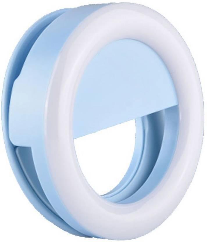 AnyTech Three Modes Selfie Beauty Ring Light LED Flash White