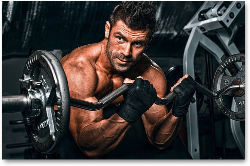 Gym Posters - Gym posters motivationa - big size – 18 inches