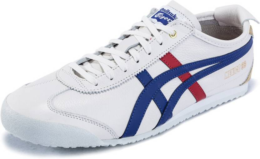ab8d7cd49594 Onitsuka Tiger Mexico 66 White Blue Limited edition Sneakers For Men (White