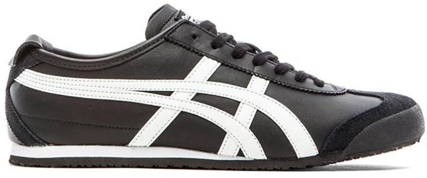 best website 2f694 3f03b Onitsuka Tiger Mexico 66 Black/White Sneakers For Men