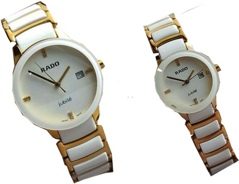 3907c4daa9 rado jubile whitegold couple whire gold couple Watch - For Couple - Buy rado  jubile whitegold couple whire gold couple Watch - For Couple whitegold  couple ...