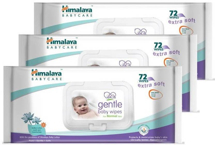 d53523a050e Himalaya Gentle Baby Wipes -   Buy Baby Care Combo in India ...