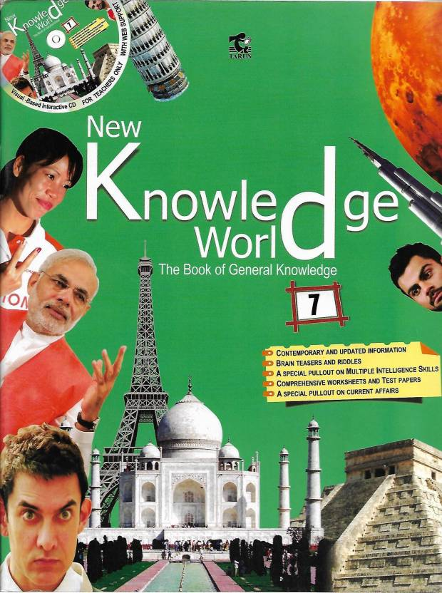 TARUN, NEW KNOWLEDGE WORLD CLASS - 7 ( THE BOOK OF GENERAL KNOWLEDGE