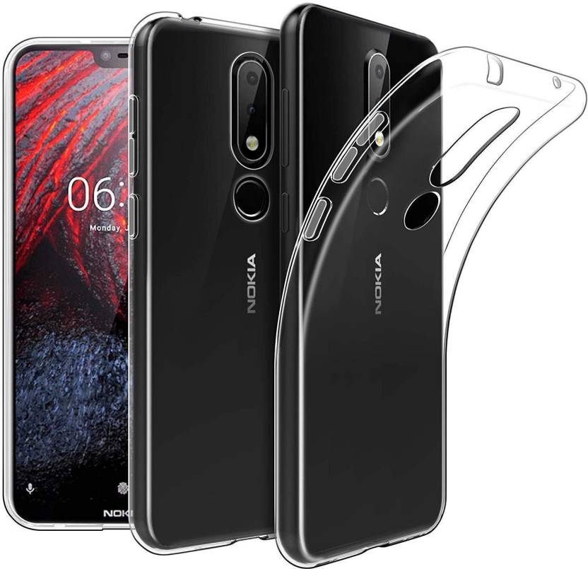 pretty nice 939a2 f2b5c MobiMonk Back Cover for Nokia 3.1 Plus Transparent Cover