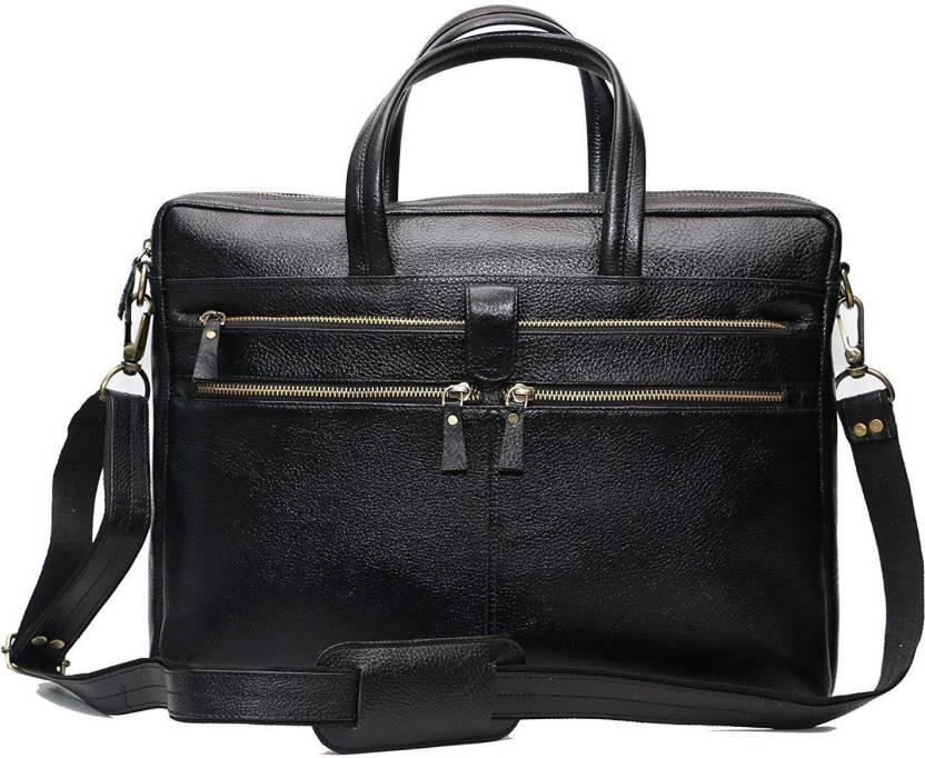 Zordan Leather 15.6 inch Expandable Laptop Case Black - Price in ... b93bfcfb60b88